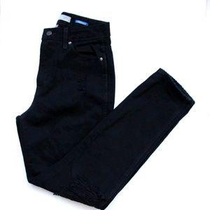 NASTY GAL The Editor Black Skinny Denim Jeans 26